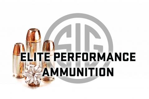 Il logo SIG Sauer delle munizioni Elite Performance