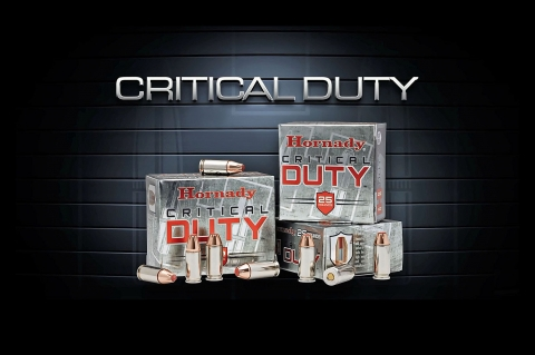 Contratto FBI per le munizioni Hornady Critical Duty calibro 9mm