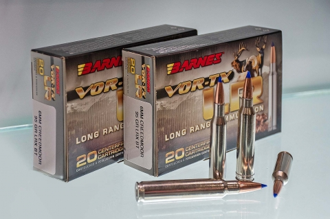 New ammunition from Barnes Bullets