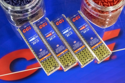 CCI Clean 22 rimifire ammunition