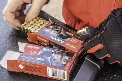 Munizioni Norma ENVY calibro 9mm da carabina
