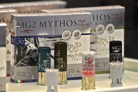 Baschieri & Pellagri MG2 Mythos new Hunting Ammunition Line