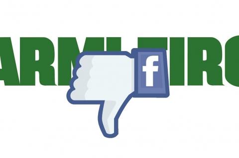 Facebook chiude il gruppo Armi e Tiro