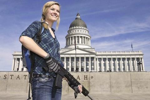 USA: Il movimento per il diritto alle armi non è violento!