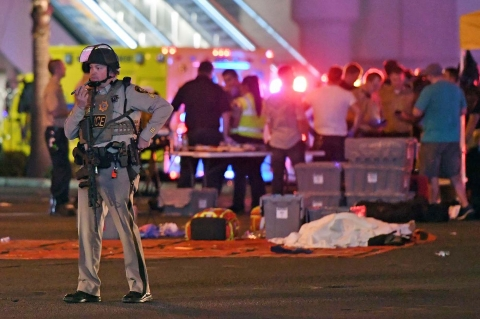 Las Vegas shooting: one more reason to learn that guns are NOT the problem! (photo credits: Ethan Miller / Getty Images)