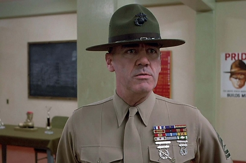 "Addio a R. Lee Ermey: se ne va ""The Gunny"""