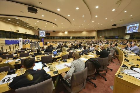 Gun rights conference at the European Parliament