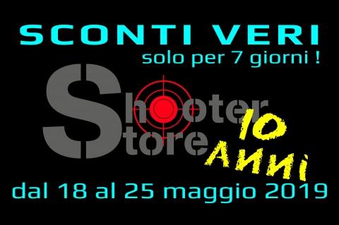 10 anni dell'Armeria Shooter Store di Roma