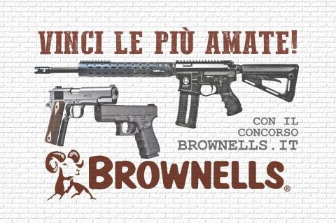 I vincitori del Concorso Brownells Italia VINCI LE PIÙ AMATE!