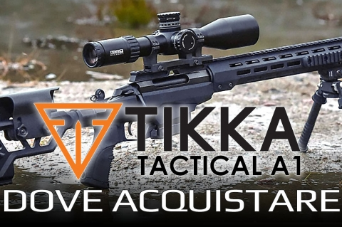 Armerie dove acquistare: Tikka T3x TAC A1