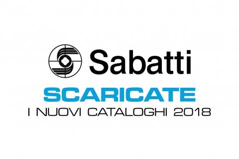 Scaricate i nuovi cataloghi Sabatti 2018!
