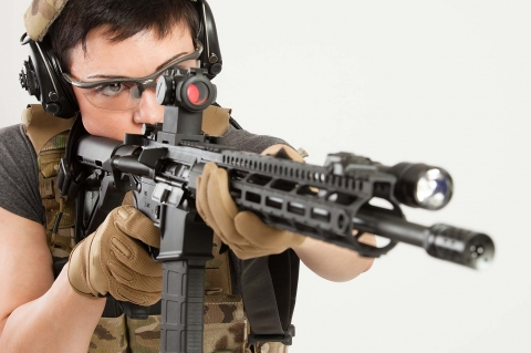 Aimpoint joins forces with Tatiana Whitlock