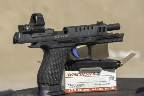 Walther Q5 Match SF steel frame pistol