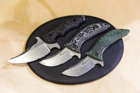 Nuovi coltelli Maserin 640 Ghost e Maserin 195/60 'Sessantesimo'