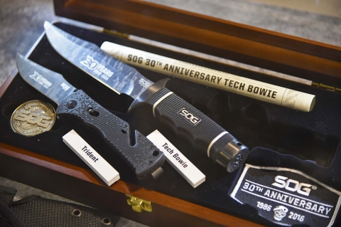 SOG Knives and Tools celebrates its first 30 Years of activity