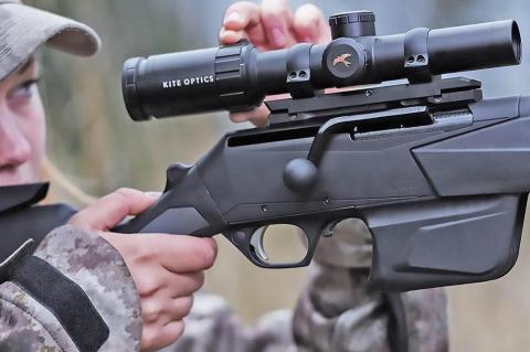 Kite Optics KSP HD2 1-6x24i variable hunting riflescope