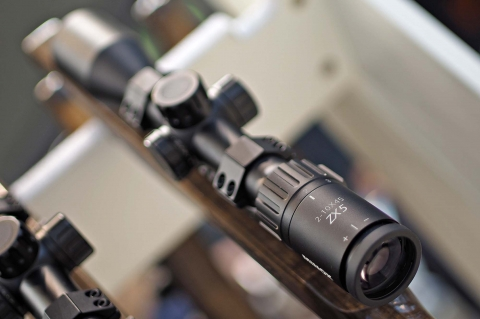 The Minox ZX5 2-10x45 riflescope