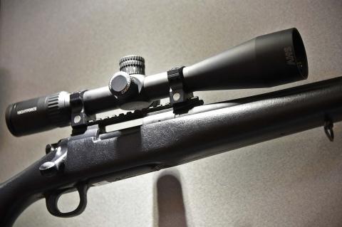 Nightforce SHV 4-14x50 F1 riflescope