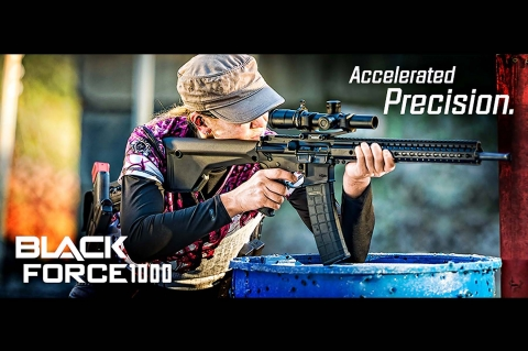 Nuovi cannocchiali Nikon BLACK X1000 e BLACKFORCE1000