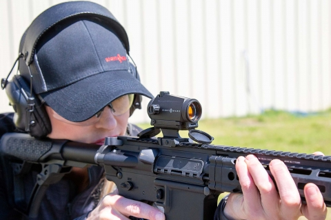 Sightmark Element Mini Solar, il red dot a energia solare