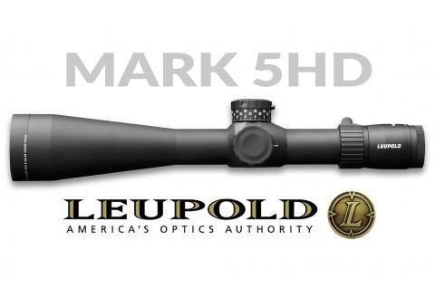 Nuovo cannocchiale Leupold Mark 5HD 7-35x56