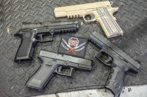 Armeria Shooter Store: gli scatti accuratizzati per pistole