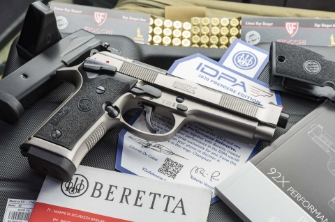 Beretta 92X Performance Defensive
