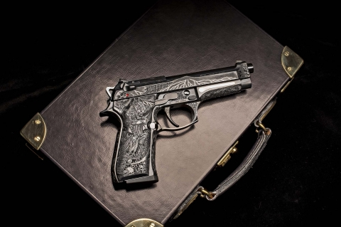 Beretta 98FS Demon: when industry meets art