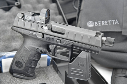 Beretta APX Combat optics-ready pistol