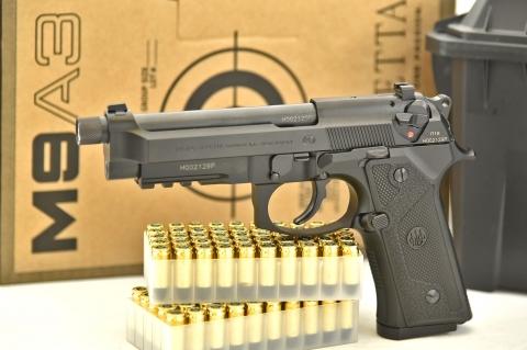 Beretta M9A3 Black: tutta nuova, tutta nera