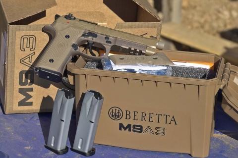 Pistola Beretta M9A3: ai vertici della serie 92