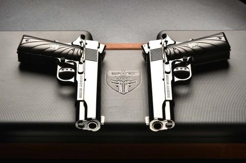 Cabot Guns Mirror Image Pistols: beyond custom 1911 pistols