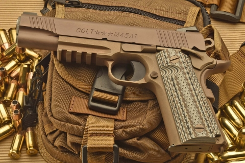 Colt M45A1 CQBP: al fianco dei Marines
