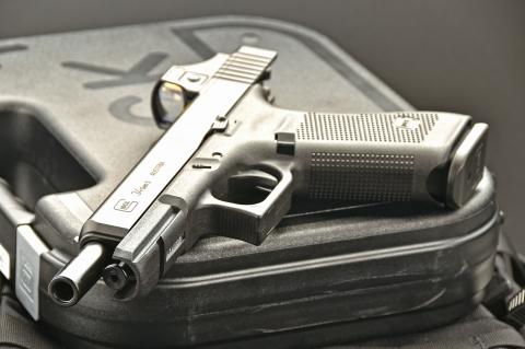 Glock 34 Gen5 MOS competition pistol
