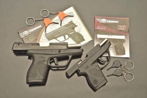 Le pistole da difesa Taurus PT709 Slim e TaurusPT738 TCP