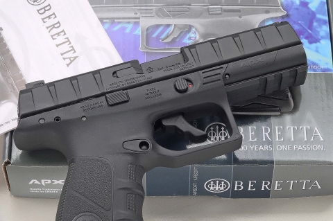 UMAREX releases the licensed airsoft replica of the Beretta APX pistol