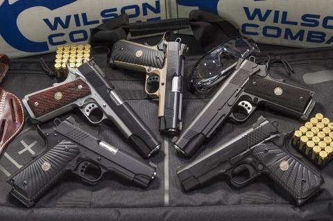 Wilson Combat: the custom-grade 1911 pistols