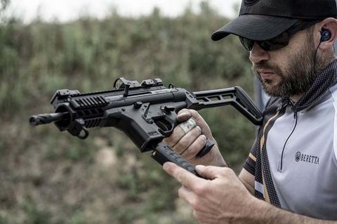 Beretta introduces the PMXs 9mm semi-automatic pistol-caliber carbine