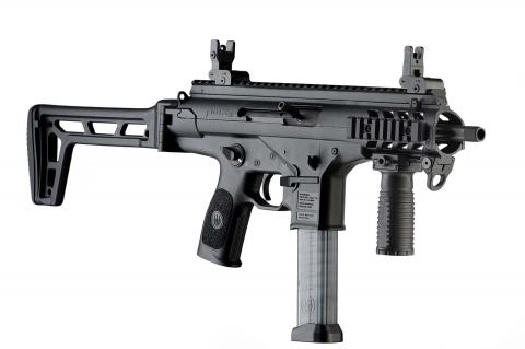 Beretta PMXs, the semi-automatic pistol-caliber carbine