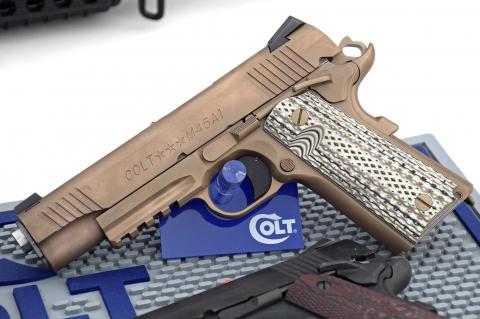 Colt 1911 M45A1 semiauto pistol .45 ACP caliber