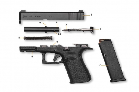 Glock 46: a new rotating barrel pistol for the German Police?