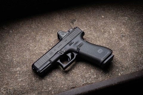 The new Glock G45 MOS pistol