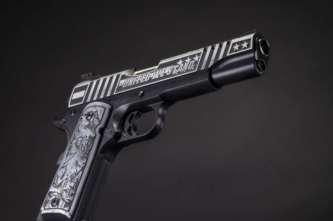 Auto-Ordnance United We Stand 1911 pistol: a new custom edition from the Kahr Firearms Group!