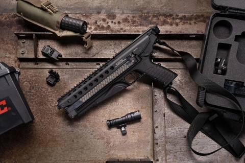 Kel-Tec P50: a new 5.7x28mm semi-automatic pistol