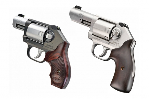 "Kimber K6s CDP and K6s Stainless 3"" double-action revolvers"