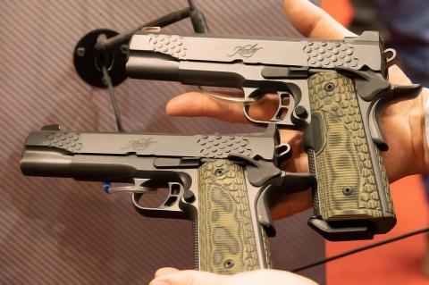 Pistole Kimber KHX Custom LG e KHX Custom OR
