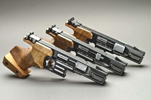 Pardini All in One: il nuovo kit di conversione Pardini consente di utilizzare 1 pistola per 3 discipline