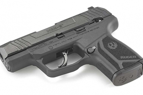 Pistola semi-automatica Ruger MAX-9, novità per la difesa personale