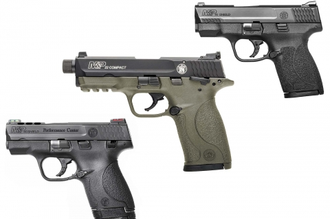 The new introductions include a mid-size rimfire sporting version and two subcompact defensive models