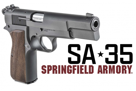 """Springfield Armory SA-35: the """"Browning High Power"""" is back"""